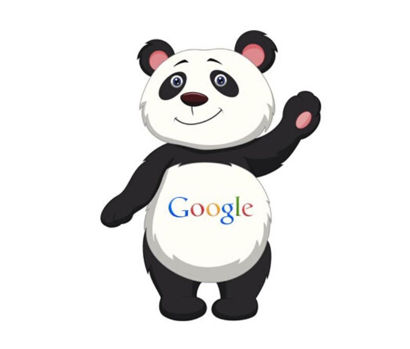 Google Panda nuobauda